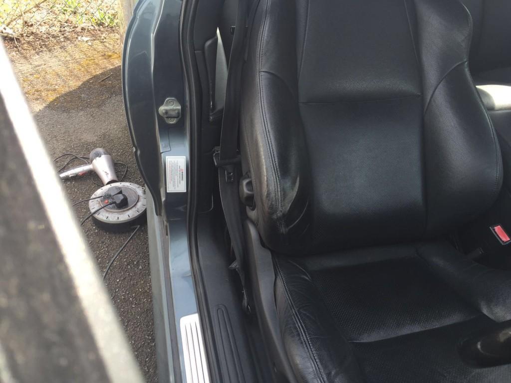 car seat leather repair