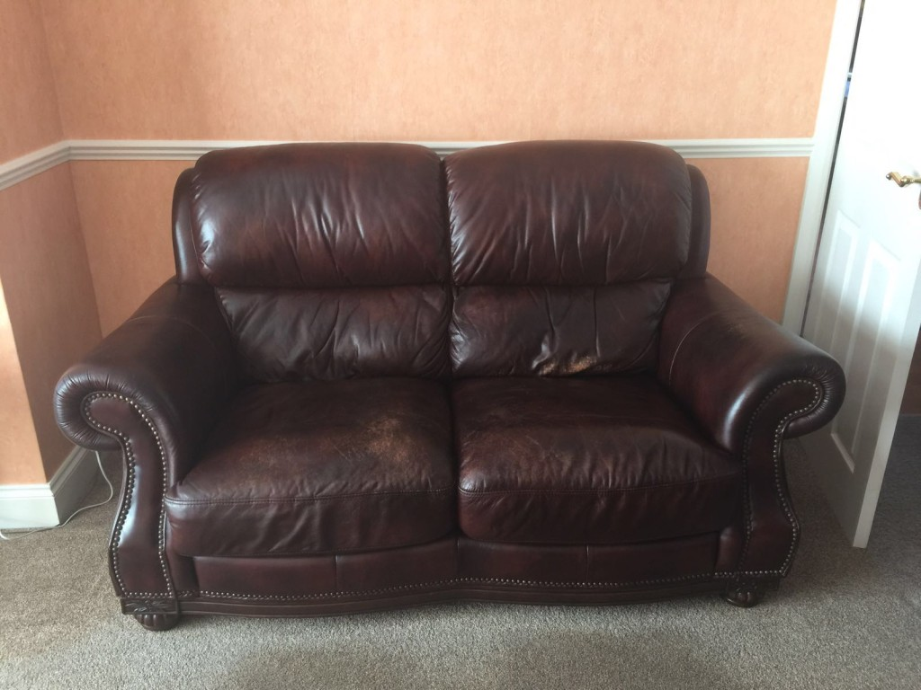 leather sofa repair